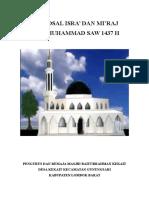 Contoh Proposal Remaja Masjid