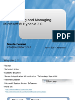 Implementing and Managing Microsoft Hyper-V 2.0