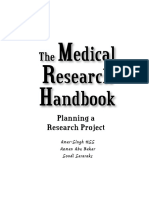 Medical Research Handbook