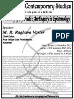 ABSTRACT ayurveda - enquiry in epistemology- 2013-10-18-Varier.pdf