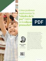 Catedra Paz en Preescolar