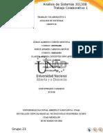 Trabajo Colaborativo 1 análisis de sistemas