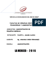 Actividad Colaborativa Los Estudiantes Organizados Realizan La Siguiente Tarea_ADM.de PEQUEÑAS EMPRESAS_ULADECH_FAUSTO