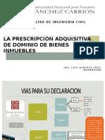 Prescripcion Adquisitiva de Dominio de Predios
