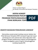 Kertas Konsep Program Penyelenggaraan 2015