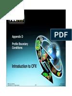 CFX12 D Profile BCs