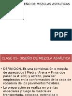 diseño Mezcla Asfálticas