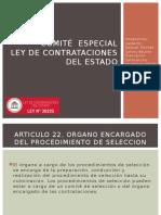 Comité Especial Ley de Contrataciones