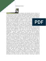 Alerta La UNAM Sobre Contaminación Por Mercurio