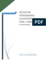 Proposal Kuesioner SMA SMK