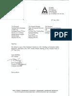 Chairmans Speech [Company Update]