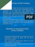 copy of organizational effectiveness