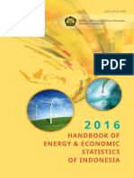 Handbook of Energy & Economic Statistics of Indonesia 2016