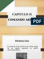 Comando Array - AutoCAD