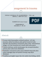 Manajemen Jalan Nafas Pada Trauma
