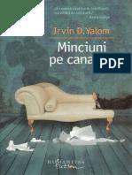 Irvin Yalom Minciuni Pe Canapea