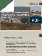 Pengajuan Potensi Pertambangan Komoditas Pasir Wilayah Kabupaten Pemalang Untuk Dinasty