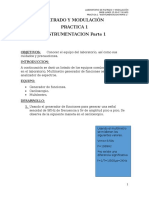 Practica 1 Filtrado y Modulación