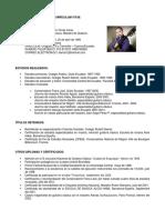 Currículum Vité Darío Torres Coral.