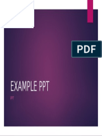 Example Ppt