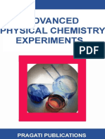 J.N. Gurtu, Amit Gurtu. Advanced Physical Chemistry Experiments