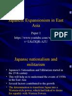 Japanses Expansion