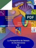 6. Equidad de Género en Salud