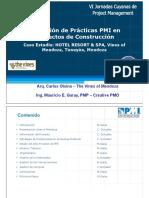 Aplicacion practicas PMI en proyectos de construccion.pdf