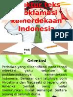 Struktur Teks Proklamasi Peristiwa Yang Diidentifikasi Pada Tahap