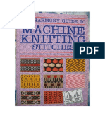 Machine Knitting Stitches Livro Cartelas 1 (2)