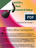 171122690 MAPEH 7 Music of Mindoro