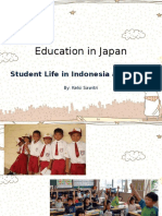 Student Life in Indonesia and Japan