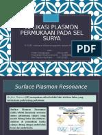 Aplikasi Plasmon Permukaan Pada Sel Surya