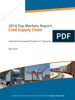 Cold Chain Top Markets Report 2016