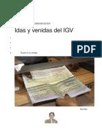 Idas y Venidas Del IGV - h. Campodonico