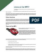 Como Funciona Un Car MP3
