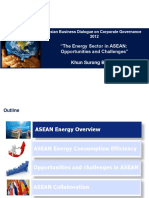 The Energy Sector in ASEANby Surong