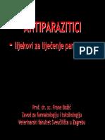 23.Antiparazitici
