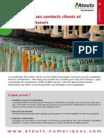 Contacts Clients Fournisseurs