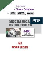 ME 4400 MCQ