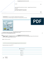 Free Aggregate Supply and Demand Online Course _ ALISON