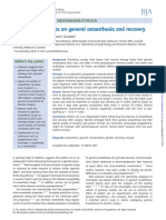 pengaruh jenis kelamin terhadap pemulihan pasca anestesi general