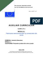 Fabricarea semiconservelor şi conservelor din carne.doc