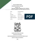 Laporan Praktikum KI2152 7 & 8