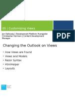 Module 5 - Customizing Views