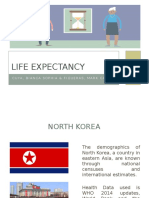 Life Expectancy of North Korea - Health Econ