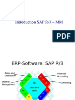 Introduction to SAP Mm