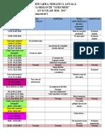 Planificare Anuala Grupa Mijlocie 2016-2017