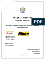 A STUDY ON DIFFUSION OF DIGITAL CAMERA INNOVATIONS