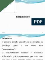Slide Temperamento